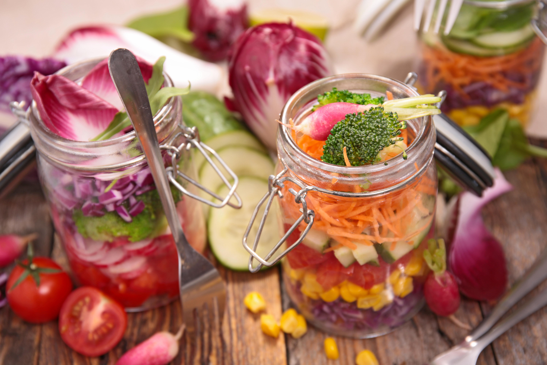 Dicas Nutriação: Salada no Pote